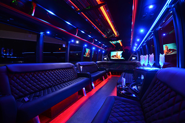 40 Person Party Bus Rental South Bend