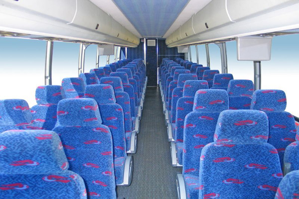 50 Person Charter Bus Rental South Bend