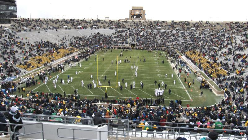 Limo Rental Notre Dame Stadium South Bend